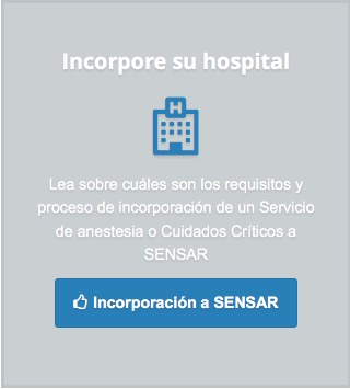 Hospital activo en SENSAR