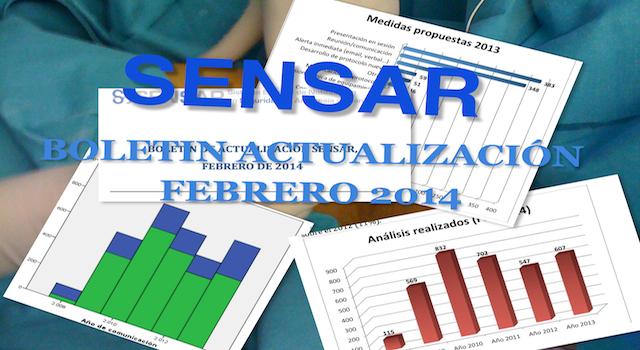 Boletín Actualización SENSAR  Febrero De 2014. Actividad Comunicadora Y Analizadora