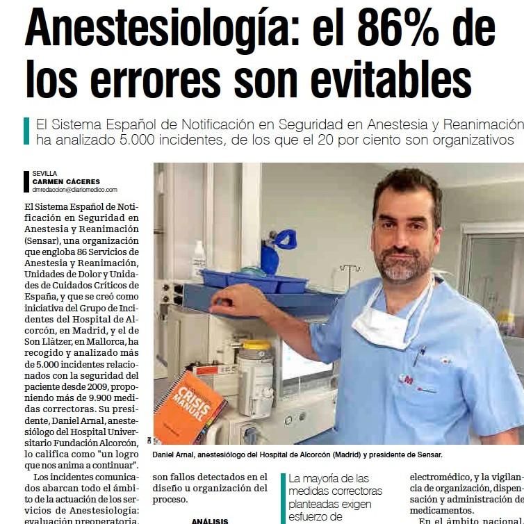 SENSAR Nota de Prensa en el Diario Médico