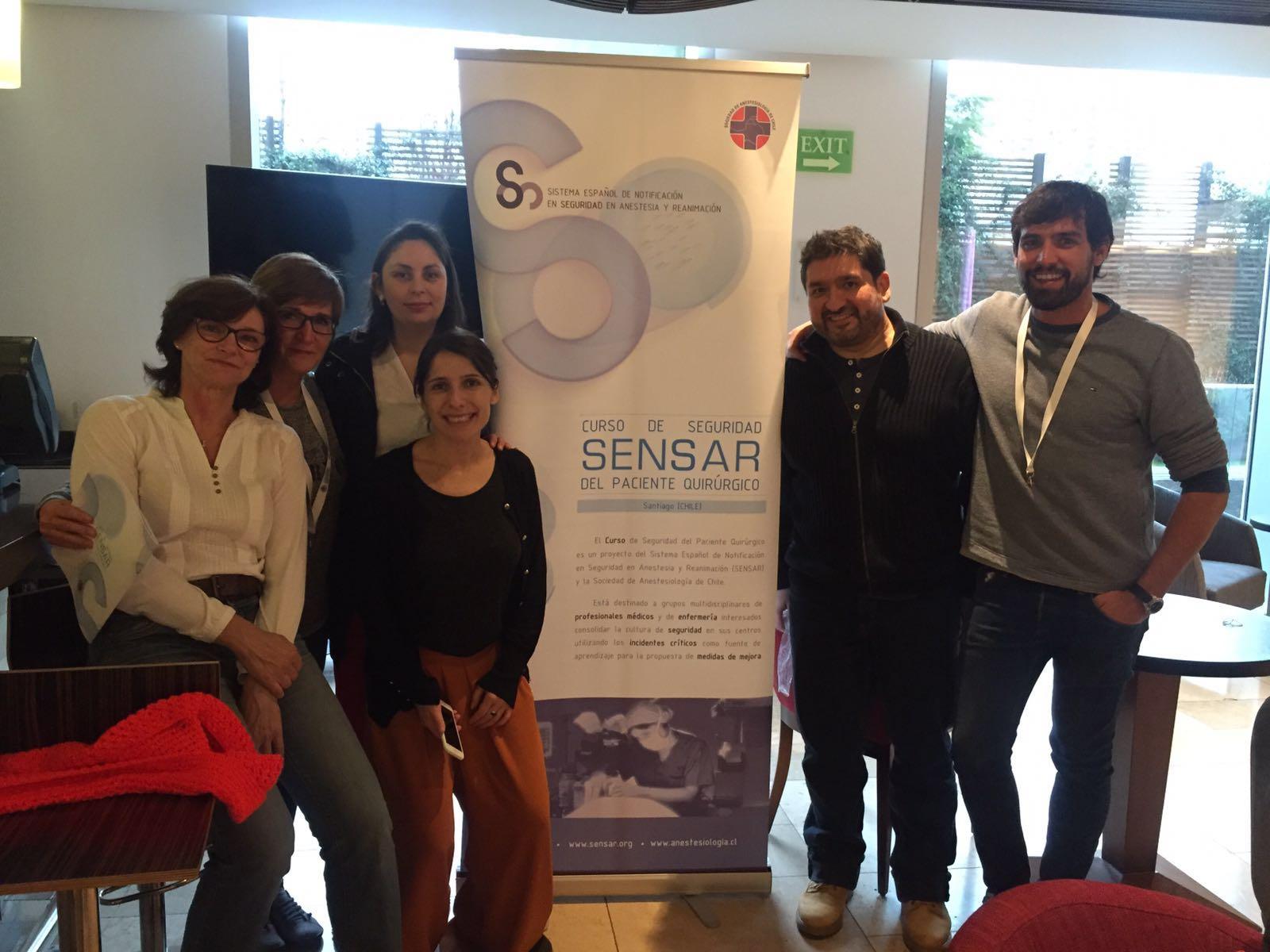 Todo listo para el Curso de Seguridad del Paciente en Santiago de Chile