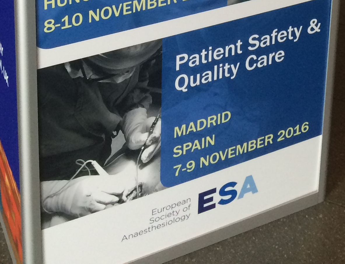 Patient Safety and Quality Masterclass en Madrid 7-9 Noviembre 2016