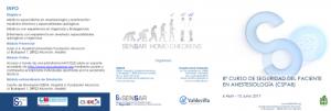 8ª Edición del Curso de Seguridad del Paciente en Anestesiología