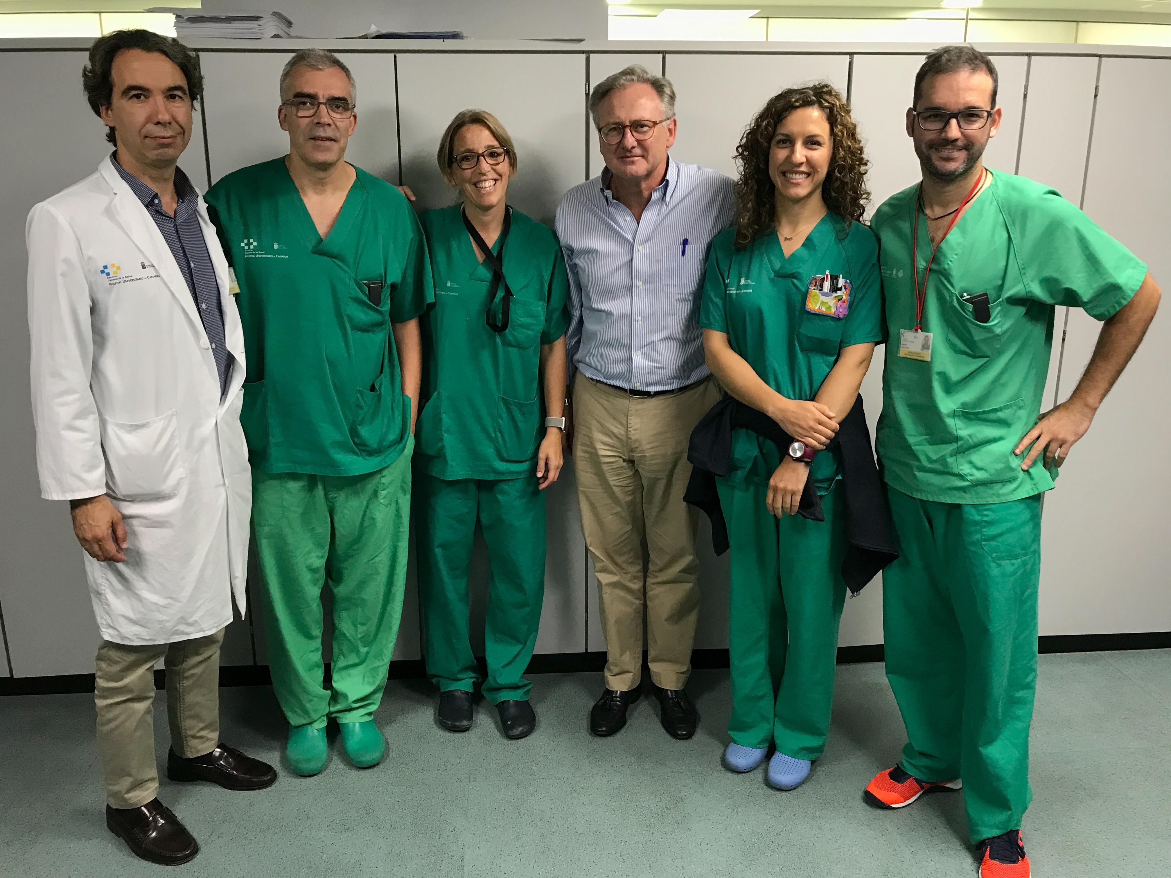 Incorporación a SENSAR del Hospital Universitario de Canarias