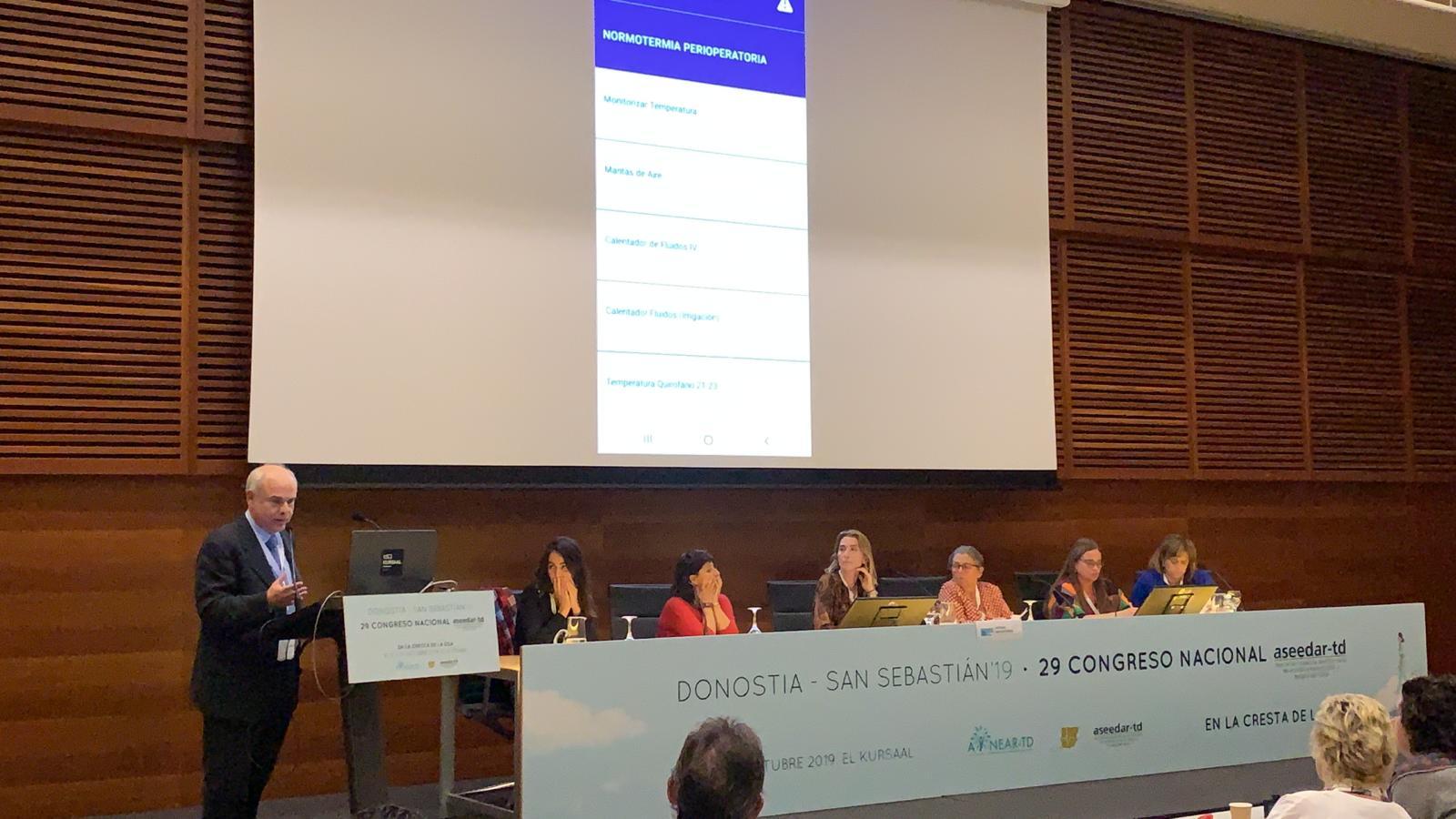 SENSAR presenta SENSApp en el Congreso Nacional de la Asociación Española de Enfermería de Anestesia, Reanimación y Terapia del Dolor