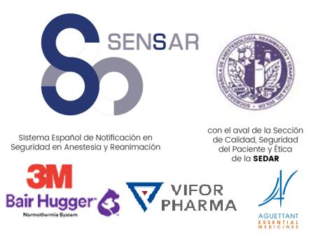 II Jornadas de Seguridad del Paciente X Aniversario SENSAR. 29 y 30 de noviembre de 2019