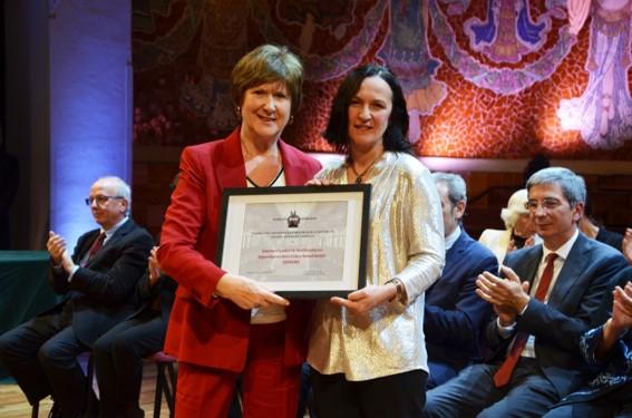 SENSAR galardonada con el Premio a la excelencia en la gestión de la calidad en una sociedad científica