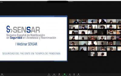 I Webinar SENSAR: Seguridad del paciente en tiempos de pandemia